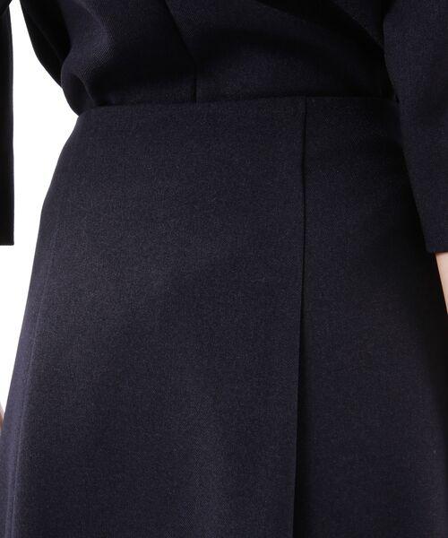 TRANS WORK / トランスワーク ロング・マキシ丈スカート | 【ウォッシャブル】ウーリッシュサージスカート | 詳細8