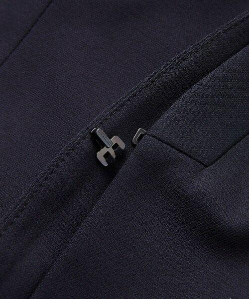 TRANS WORK / トランスワーク ノーカラージャケット | 【セットアップ対応】【XSサイズ〜】【美Jacket】トリアセルクスVラインジャケット | 詳細12
