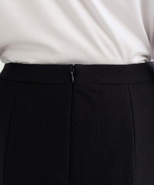 TRANS WORK / トランスワーク ロング・マキシ丈スカート | 【セットアップ対応】【美Skirt】ツイーディーアートピケセミフレアースカート | 詳細9