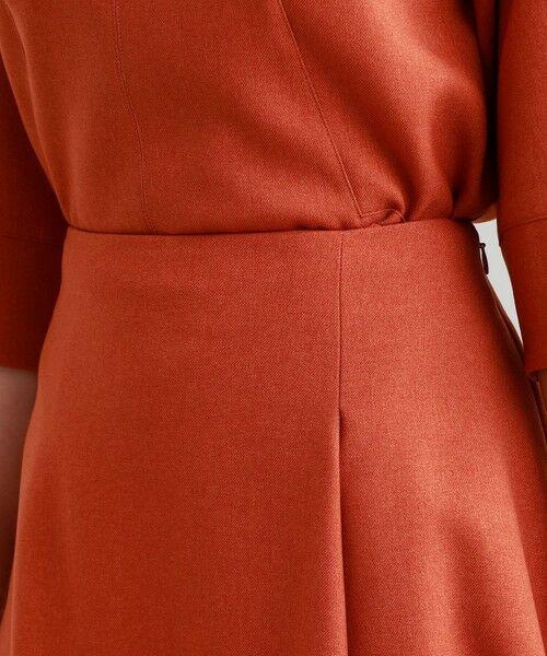 TRANS WORK / トランスワーク ロング・マキシ丈スカート | 【ウォッシャブル】ウーリッシュネクストフレアースカート | 詳細13