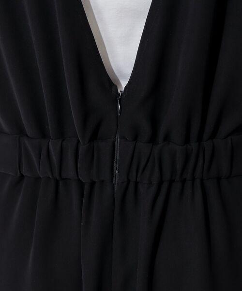un dix cors / アンディコール ミニ丈・ひざ丈ワンピース   ダブルクロスオールインワン   詳細11