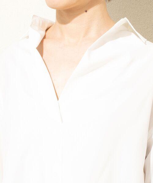 un dix cors / アンディコール シャツ・ブラウス | リヨセルポプリンスキッパーシャツ | 詳細12