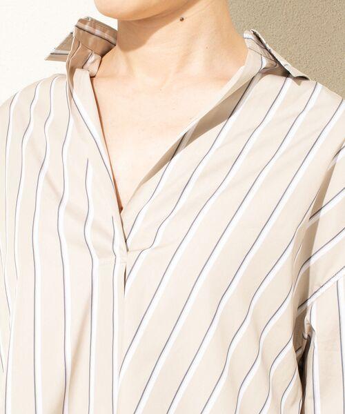 un dix cors / アンディコール シャツ・ブラウス | ストライプスキッパーシャツ | 詳細11