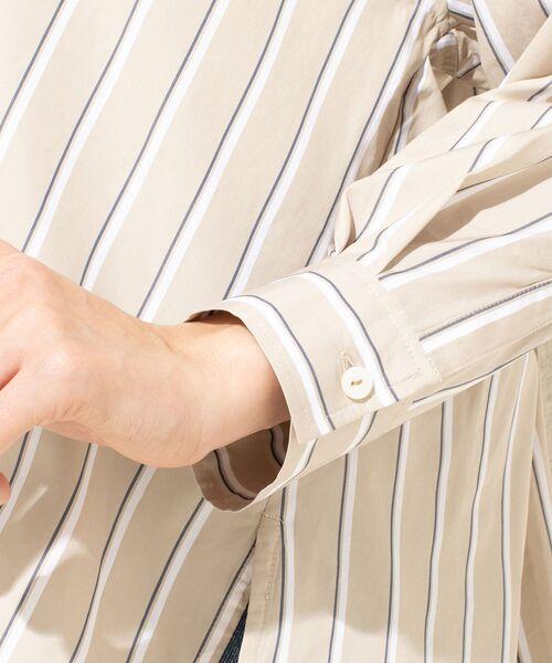 un dix cors / アンディコール シャツ・ブラウス | ストライプスキッパーシャツ | 詳細12