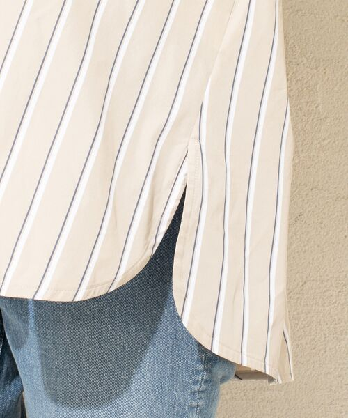 un dix cors / アンディコール シャツ・ブラウス | ストライプスキッパーシャツ | 詳細13