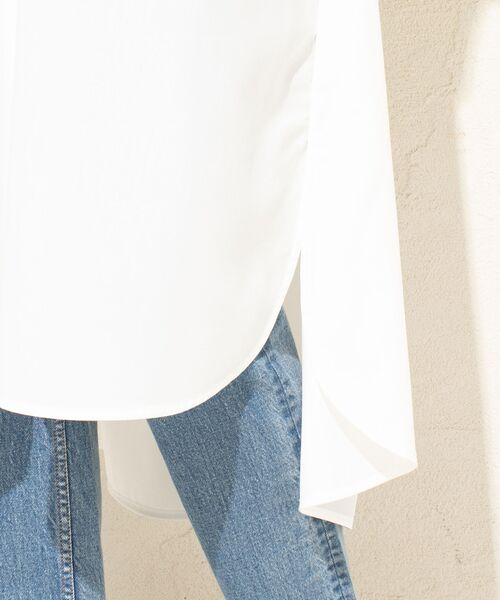 un dix cors / アンディコール ミニ丈・ひざ丈ワンピース | リヨセルポプリンスキッパーワンピース | 詳細11