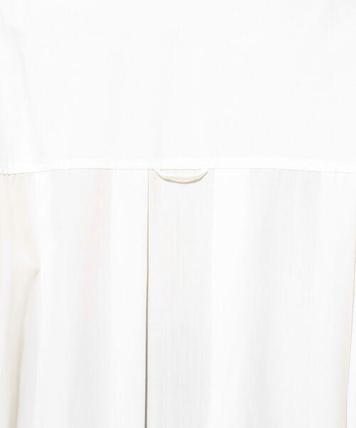 un dix cors / アンディコール ミニ丈・ひざ丈ワンピース | リヨセルポプリンスキッパーワンピース | 詳細8