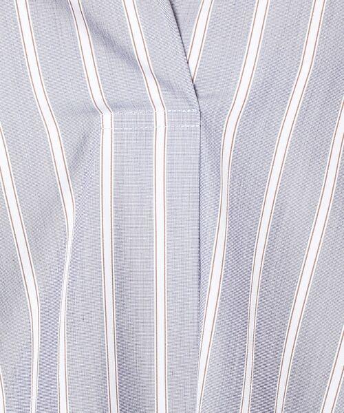 un dix cors / アンディコール ミニ丈・ひざ丈ワンピース | ストライプスキッパーワンピース | 詳細18