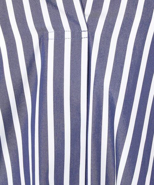 un dix cors / アンディコール ミニ丈・ひざ丈ワンピース | ストライプスキッパーワンピース | 詳細20