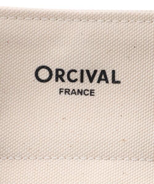un dix cors / アンディコール トラベルバッグ |  【ORCIVAL/オーシバル】ライトキャンバストートM | 詳細6