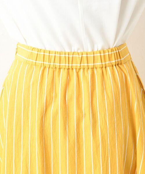 un dix cors / アンディコール デニムスカート | 【手洗い可】コットンストライプマキシスカート | 詳細13