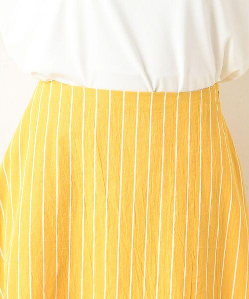 un dix cors / アンディコール デニムスカート | 【手洗い可】コットンストライプマキシスカート | 詳細14