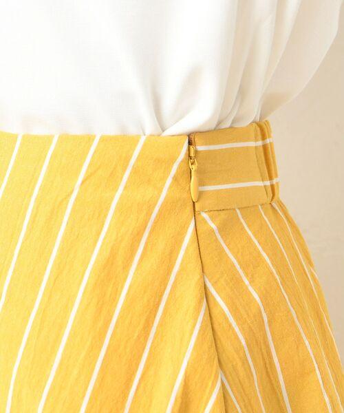 un dix cors / アンディコール デニムスカート | 【手洗い可】コットンストライプマキシスカート | 詳細15