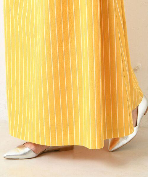 un dix cors / アンディコール デニムスカート | 【手洗い可】コットンストライプマキシスカート | 詳細16