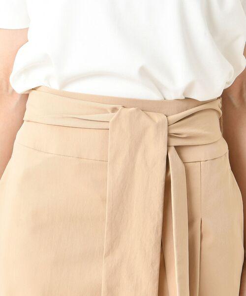 un dix cors / アンディコール デニムスカート | ラップ風マキシスカート | 詳細10
