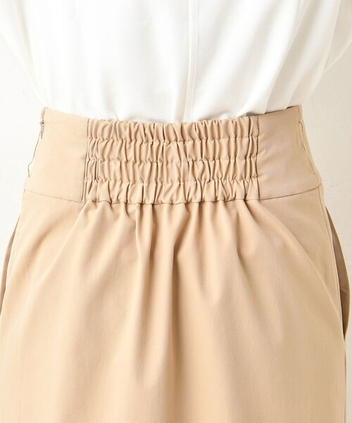 un dix cors / アンディコール デニムスカート | ラップ風マキシスカート | 詳細13
