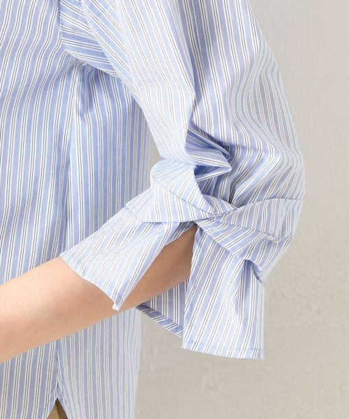 un dix cors / アンディコール シャツ・ブラウス   【手洗い可】ブライトブロードストライプシャツ   詳細15