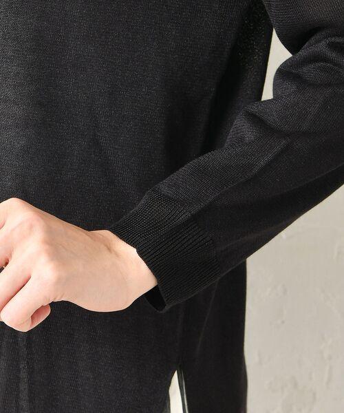 un dix cors / アンディコール ニット・セーター   シースルーサイドスリットチュニック   詳細10