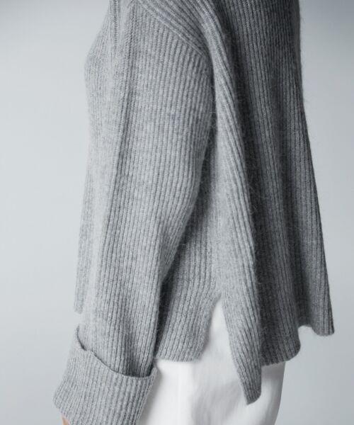 自由区 Unfilo / アンフィーロ ジユウク ニット・セーター | 【Unfilo】BRIGHT COLOR KNIT プルオーバー | 詳細5