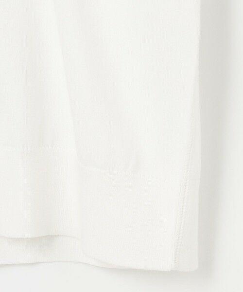 自由区 Unfilo / アンフィーロ ジユウク カーディガン・ボレロ | 【UNFILO・Sサイズ有】ハウストンオーガニック ニットカーディガン | 詳細9