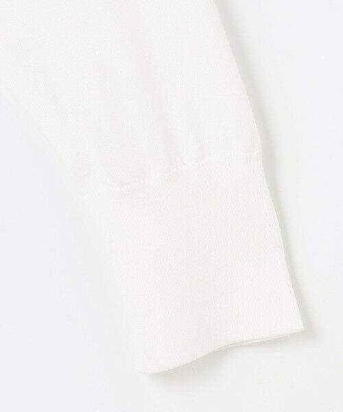 自由区 Unfilo / アンフィーロ ジユウク カーディガン・ボレロ | 【UNFILO・Sサイズ有】ハウストンオーガニック ニットカーディガン | 詳細8