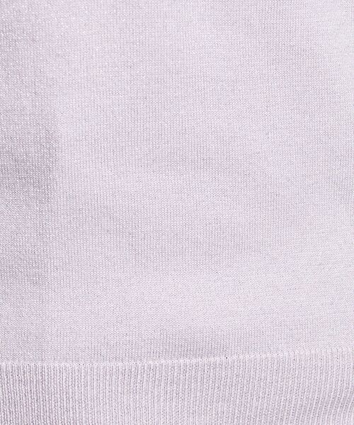 UNITED ARROWS / ユナイテッドアローズ ニット・セーター | ○UBCB ラメ Vネック 長袖ニット | 詳細9