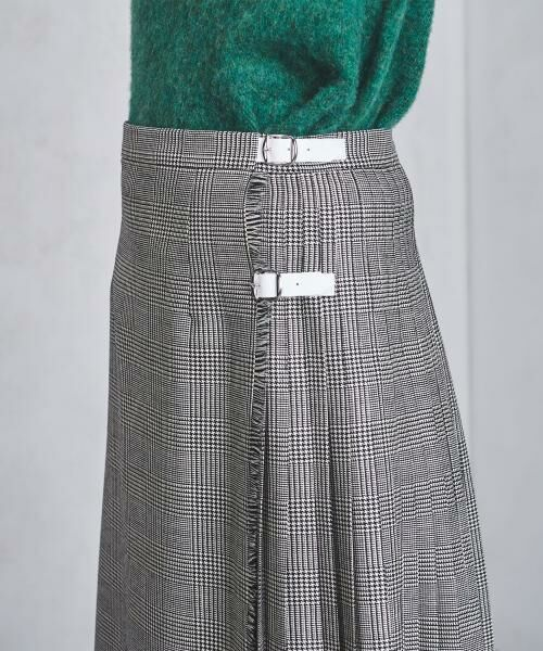 UNITED ARROWS / ユナイテッドアローズ ミニ・ひざ丈スカート | 【追加予約】<O'NEIL of DUBLIN(オニールオブダブリン)>アコーディオン スカート | 詳細6