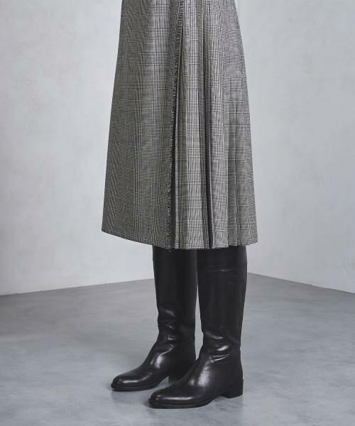 UNITED ARROWS / ユナイテッドアローズ ミニ・ひざ丈スカート | 【追加予約】<O'NEIL of DUBLIN(オニールオブダブリン)>アコーディオン スカート | 詳細8