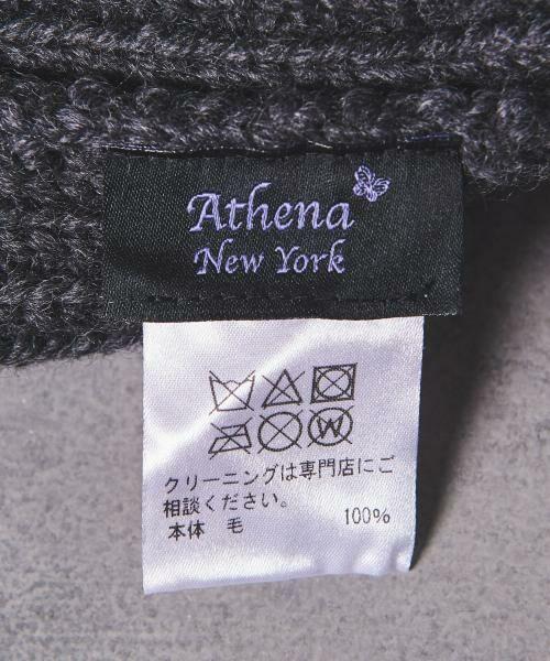 UNITED ARROWS / ユナイテッドアローズ ニットキャップ   <Athena New York(アシーナ ニューヨーク)> NADIA ポンポン ニットキャップ   詳細8