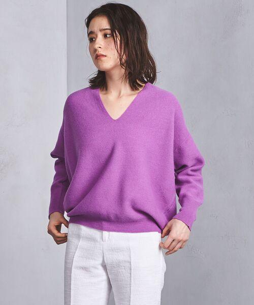 密に編んだウール100%仕立てで上質な一着