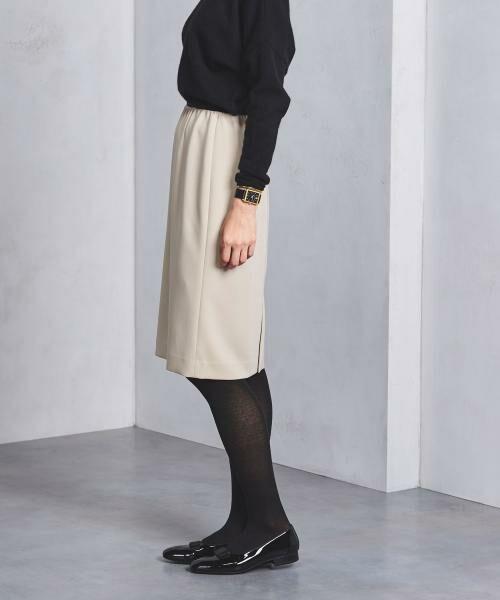 UNITED ARROWS / ユナイテッドアローズ ミニ・ひざ丈スカート | UBCB シンプル タイトスカート | 詳細7