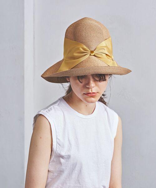 UNITED ARROWS / ユナイテッドアローズ ハット | <Athena New York(アシーナ ニューヨーク)> RISAKO TAN BODY  ハット 18SS(MUSTARD)