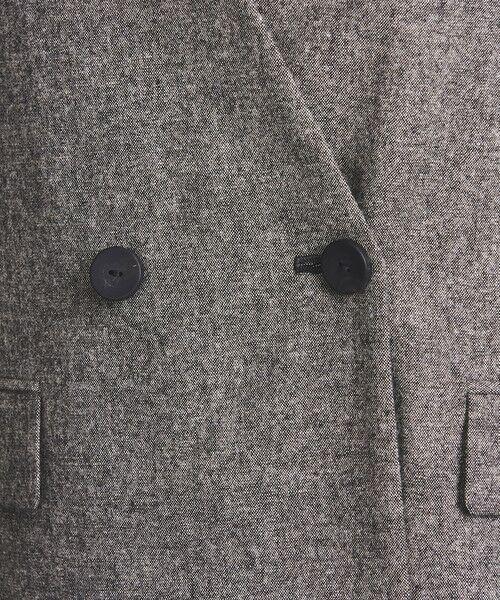 UNITED ARROWS / ユナイテッドアローズ ノーカラージャケット | UBCB ノーカラー 2ボタン ジャケット | 詳細15