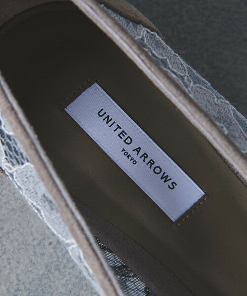 UNITED ARROWS / ユナイテッドアローズ フラットシューズ | UBCS ポインテッド レース フラットパンプス | 詳細8