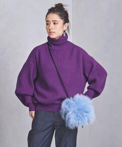 アゼ編みのタートルネックニット。<br>ボリュームのある袖デザインとゆったりとしたシルエットがポイント。<br>パンツあわせはもちろん、ロングスカートとのレイヤードもおすすめです。<br><br><font color=purple>店舗へお問い合わせの際は、全国のUNITED ARROWS各店舗まで下記の品名/品番をお申し付けください。<br>品名:UWSC W/N VOLUME/SL TTL 品番:15136990340</font>