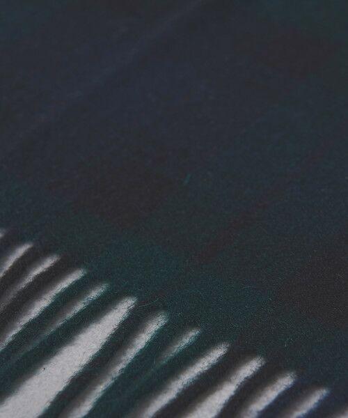 UNITED ARROWS / ユナイテッドアローズ マフラー・ショール・スヌード・ストール | <BRONTE(ブロンテ)> チェック柄 ストール70×185 | 詳細9