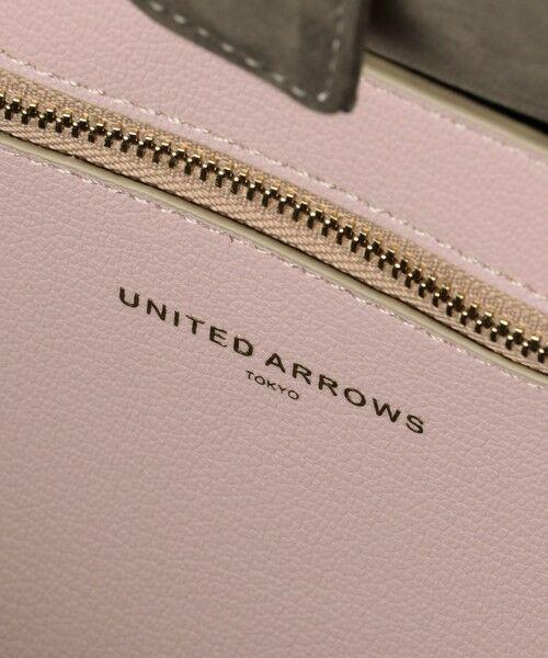 UNITED ARROWS / ユナイテッドアローズ トートバッグ | UBCS フェイクレザー トートバッグ | 詳細23