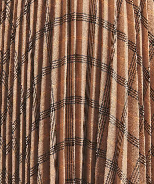 UNITED ARROWS / ユナイテッドアローズ ロング・マキシ丈スカート | UWSC チェック アコーディオンプリーツ スカート | 詳細9