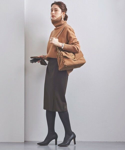 UNITED ARROWS / ユナイテッドアローズ ミニ・ひざ丈スカート | UBCB サイドベント タイトスカート | 詳細9