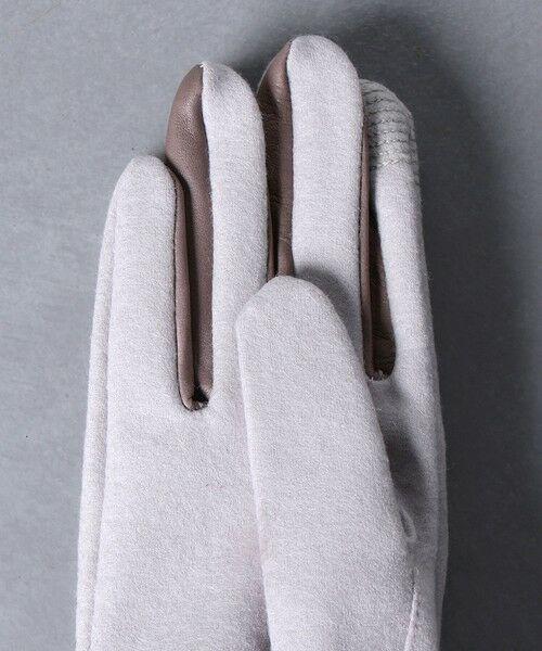 UNITED ARROWS / ユナイテッドアローズ 手袋 | UBCS ジャージー ファー グローブ T/P | 詳細7