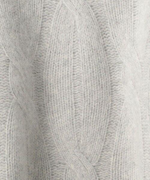 UNITED ARROWS / ユナイテッドアローズ ニット・セーター | 【WEB限定】UWSC ケーブルニット | 詳細12