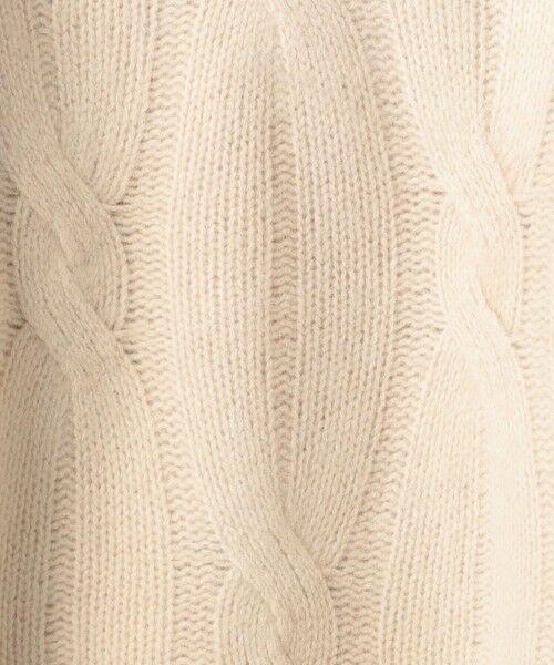 UNITED ARROWS / ユナイテッドアローズ ニット・セーター | 【WEB限定】UWSC ケーブルニット | 詳細16