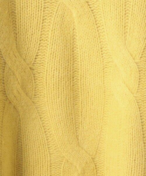 UNITED ARROWS / ユナイテッドアローズ ニット・セーター | 【WEB限定】UWSC ケーブルニット | 詳細28