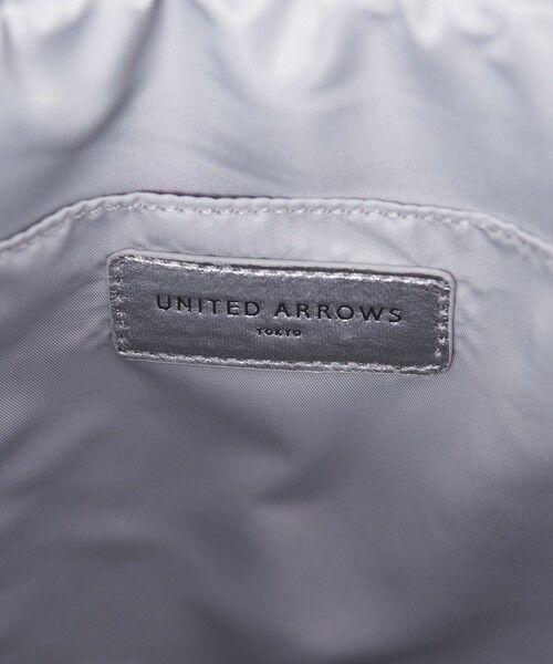 UNITED ARROWS / ユナイテッドアローズ トートバッグ | UWSC メタリック プリーツ トートバッグ† | 詳細8