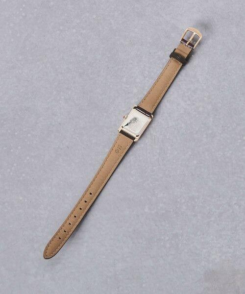 UNITED ARROWS / ユナイテッドアローズ 腕時計 | UBCB スクエア レザー 腕時計 GLD† | 詳細3