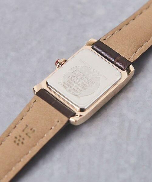 UNITED ARROWS / ユナイテッドアローズ 腕時計 | UBCB スクエア レザー 腕時計 GLD† | 詳細4