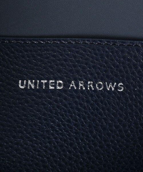 UNITED ARROWS / ユナイテッドアローズ ビジネスバッグ   UBC フェイクレザー ロック フラップ トートバッグ   詳細12