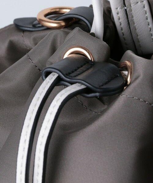 UNITED ARROWS / ユナイテッドアローズ トートバッグ | 【一部別注】<ORSETTO(オルセット)>NY/LTH ドローストリング バッグ | 詳細10