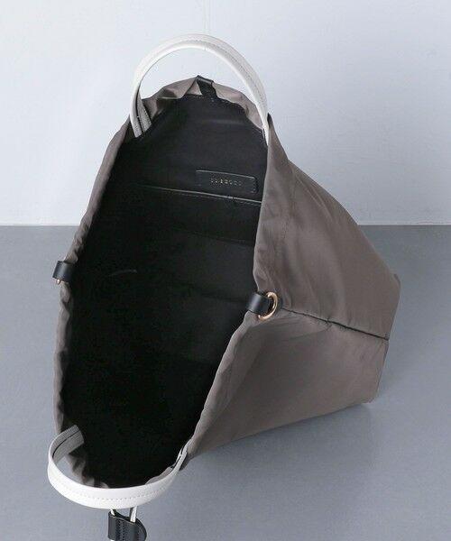 UNITED ARROWS / ユナイテッドアローズ トートバッグ | 【一部別注】<ORSETTO(オルセット)>NY/LTH ドローストリング バッグ | 詳細12