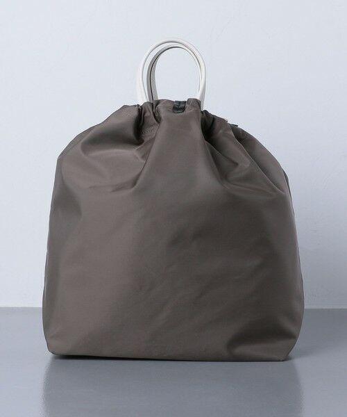 UNITED ARROWS / ユナイテッドアローズ トートバッグ | 【一部別注】<ORSETTO(オルセット)>NY/LTH ドローストリング バッグ | 詳細3